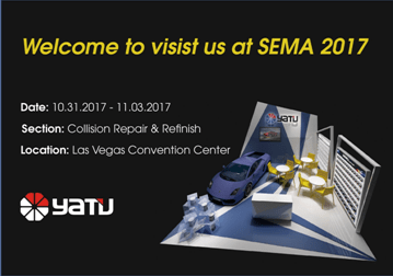 Welcome to visist us at SEMA 2017